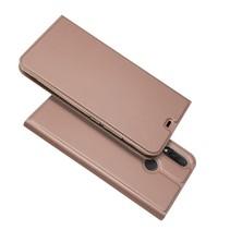 Booktype Hoesje Huawei P Smart Plus - Roze / Goud