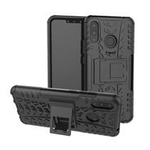 Hybrid Hoesje Huawei P Smart Plus - Zwart