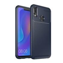 TPU Hoesje Huawei P Smart Plus - Donker Blauw