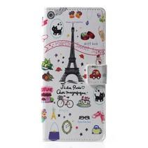 Eiffeltoren Booktype Hoesje Samsung Galaxy J6 Plus