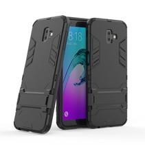 Hybrid Hoesje Samsung Galaxy J6 Plus - Zwart