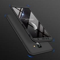 Gkk Hardcase Hoesje Samsung Galaxy J6 Plus - Zwart