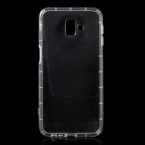 TPU Hoesje Samsung Galaxy J6 Plus - Transparant