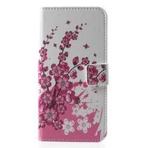 Roze Bloesem Booktype Hoesje Huawei Y5 (2018)