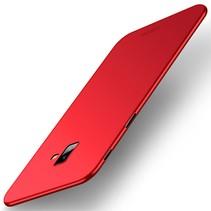 Mofi Hardcase Hoesje Samsung Galaxy J6 Plus - Rood