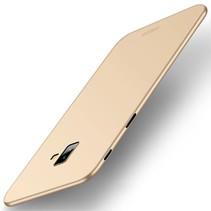 Mofi Hardcase Hoesje Samsung Galaxy J6 Plus - Goud
