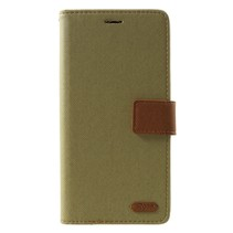 Roar Korea Booktype Hoesje Samsung Galaxy J6 Plus - Khaki