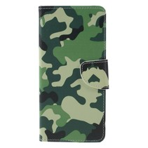 Camouflage Booktype Hoesje Samsung Galaxy J6 Plus