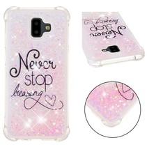 Never Stop Dreaming TPU Hoesje Samsung Galaxy J6 Plus