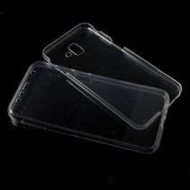 Hybrid Hoesje Samsung Galaxy J6 Plus - Transparant