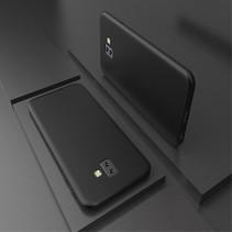 X-level TPU Hoesje Samsung Galaxy J6 Plus - Zwart