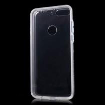 Hybrid Hoesje Huawei Y7 (2018) - Transparant