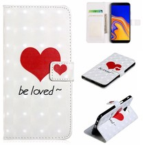 Be Loved Booktype Hoesje Samsung Galaxy J6 Plus