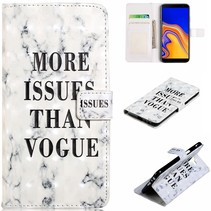 More Issues Than Vogue Booktype Hoesje Samsung Galaxy J6 Plus