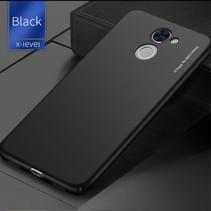 X-level Hardcase Hoesje Huawei Y7 Prime - Zwart