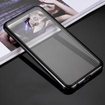 Hardcase Hoesje Samsung Galaxy J6 Plus - Zwart
