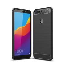 TPU Hoesje Huawei Y7 Prime - Zwart