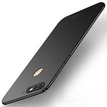 Mofi Hardcase Hoesje Huawei Y7 Prime - Zwart