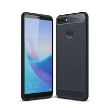 TPU Hoesje Huawei Y9 (2018) - Donker Blauw