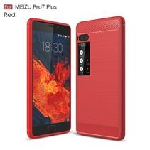 TPU Hoesje Meizu Pro 7 Plus - Rood