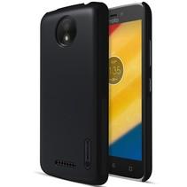 Nillkin Hardcase Hoesje Motorola Moto C Plus - Zwart