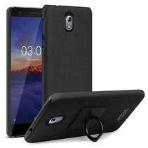 Imak Hardcase Hoesje Nokia 3.1 - Zwart