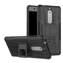 Hybrid Hoesje Nokia 5 - Zwart