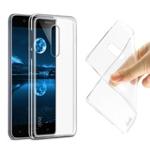 Imak TPU Hoesje Nokia 5 - Transparant