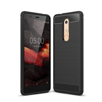 TPU Hoesje Nokia 5.1 - Zwart