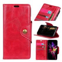 Booktype Hoesje Nokia 5.1 - Rood