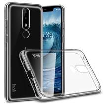 Imak TPU Hoesje Nokia 5.1 - Transparant