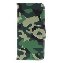 Camouflage Booktype Hoesje Nokia 5.1