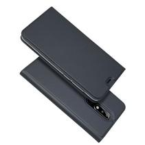 Booktype Hoesje Nokia 5.1 - Zwart