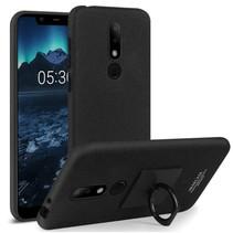 Imak Hardcase Hoesje Nokia 5.1 Plus - Zwart