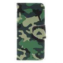 Camouflage Booktype Hoesje Nokia 5.1 Plus