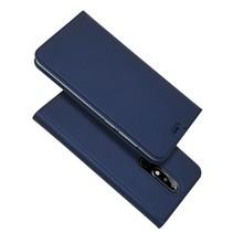 Booktype Hoesje Nokia 5.1 Plus - Donker Blauw
