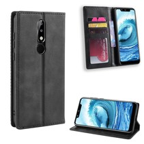 Booktype Hoesje Nokia 5.1 Plus - Zwart