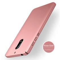 Mofi Hardcase Hoesje Nokia 6 - Roze / Goud
