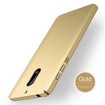 Mofi Hardcase Hoesje Nokia 6 - Goud