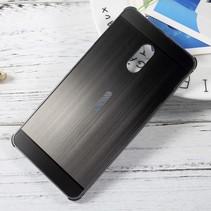 Hardcase Hoesje Nokia 6 - Zwart