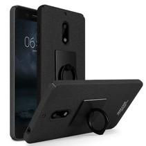 Imak Hardcase Hoesje Nokia 6 - Zwart