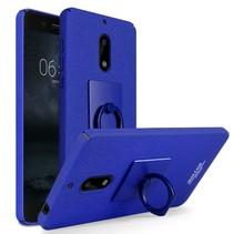 Imak Hardcase Hoesje Nokia 6 - Blauw
