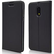Booktype Hoesje Nokia 6 - Zwart