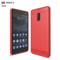 TPU Hoesje Nokia 6 - Rood