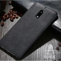 X-level Hardcase Hoesje Nokia 6 - Zwart