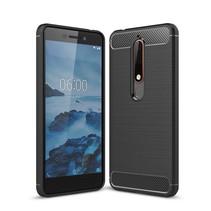 TPU Hoesje Nokia 6.1 Plus - Zwart