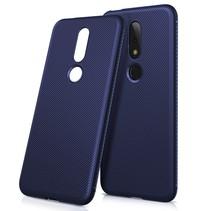 TPU Hoesje Nokia 6.1 Plus - Donker Blauw