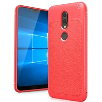 Ivso TPU Hoesje Nokia 6.1 Plus - Rood