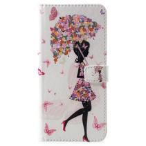 Paraplu Meisje Booktype Hoesje Nokia 6.1 Plus