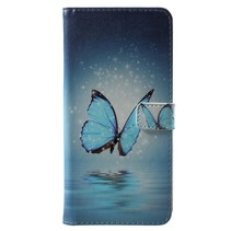 Blauwe Vlinder Booktype Hoesje Nokia 6.1 Plus